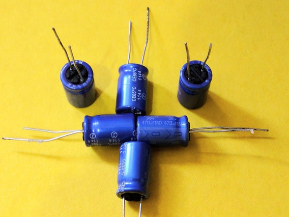 Kit Com 50 Capacitores 470x35v 85°