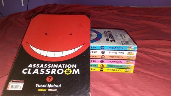 Box Mangá Assassination Classroom 1 Ao 7