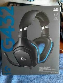 Audífonos Gaming Logitech G432 Nuevo Sellado Garantía Envío