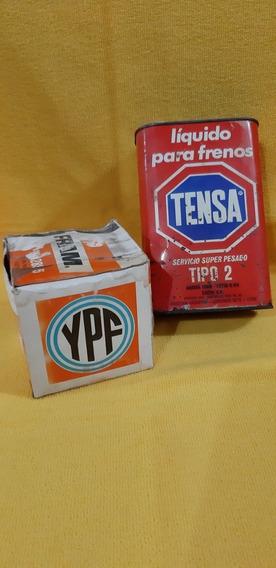 Antigua Lata De Aditivo Tensa Y Caja Ypf