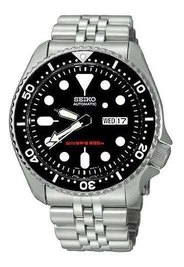 Relógio Seiko Skx007k2 Black Boy Diver Automatico Skx00&