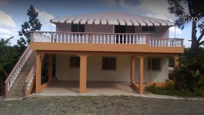 Alquilo Bonita Casa De 2 Habitaciones En El Cajuilito.