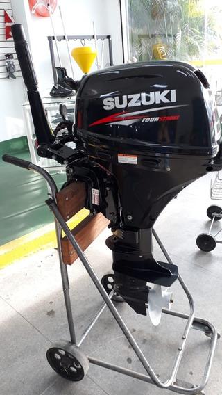 Motor De Popa Suzuki 20 Hp 4t Partida Eletrica Okm