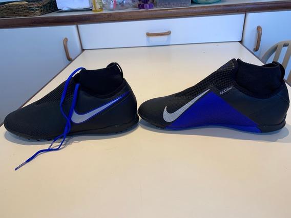 Tenis Nike Original Phanton Azul Tamanho Usa 9.5