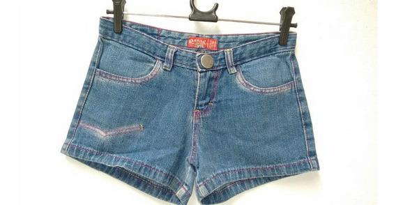 Shorts Jeans Infantil Oatac 100% Algodão 12 - Usado