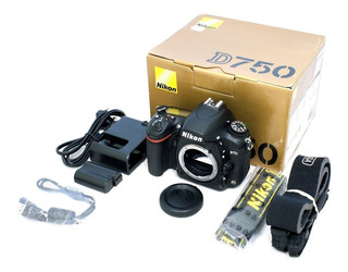 Nikon D750 Body Nuevo Full Frame Profesional En Stock