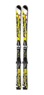 Tablas De Ski Fischer Viron 2.2 + Fijaciones - Pista