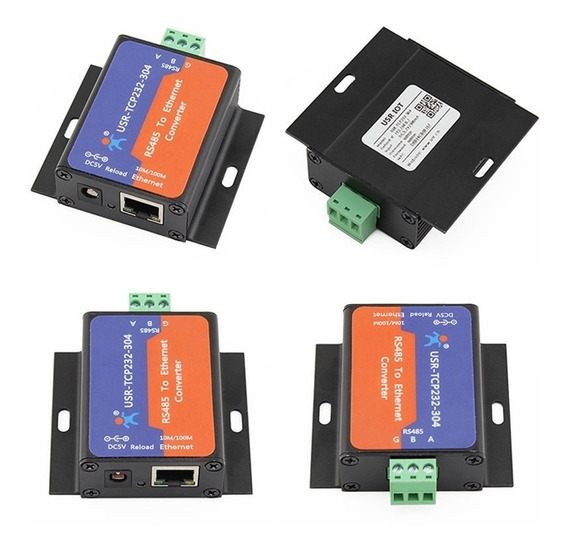 Conversor Rs485 Para Ethernet Usr-tcp232-304