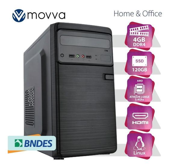 Computador Iron Athlon 240ge 3.5ghz 8gb Ddr4 Hd 1tb Hdmi/vga