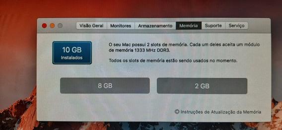 Mac Mini I5 Com 10gb De Memória Hd Sdd 240