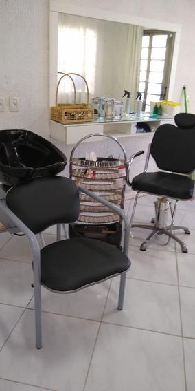 Produtos De Salão Bancada Planejada Cadeira,lavatório Esmalt