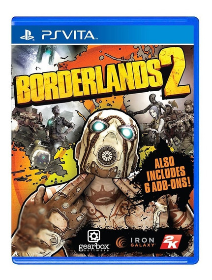 Borderlands 2 - Ps Vita - Usado - Original