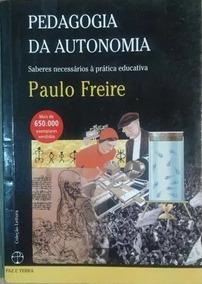 Livro Pedagogia Da Autonomia