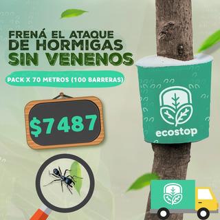 Barrera Contra Hormigas Sin Venenos Ecostop!70 Metros Cuotas