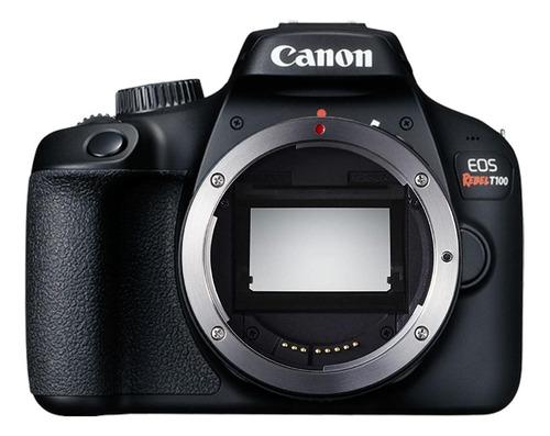 Canon EOS Rebel T100 DSLR cor preto