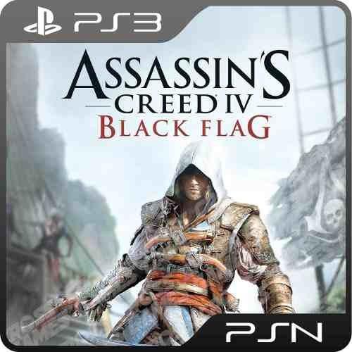 Assassins Creed 4 Black Flag Ps3 - Mídia Digital