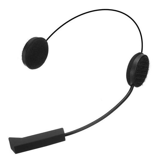 Fone Ouvido Sem Fio Para Capacete Com Bluetooth Gps Mp3