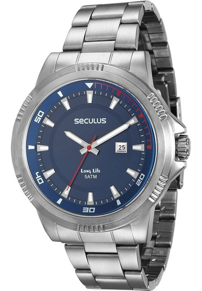 Relógio Masculino Seculus 20359g0svna2 Analógico- De Vltrine