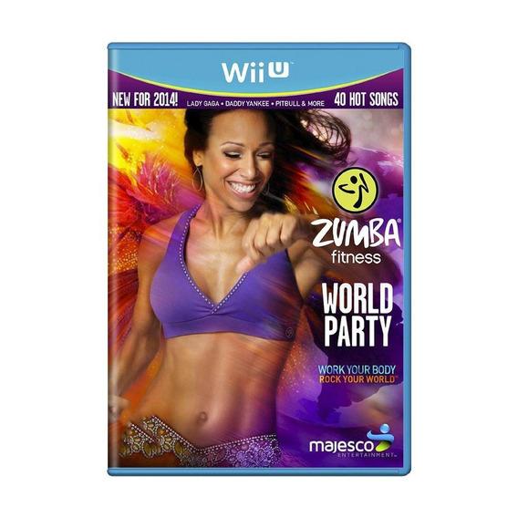 Zumba Fitness World Party Wii U Mídia Física Pronta Entrega