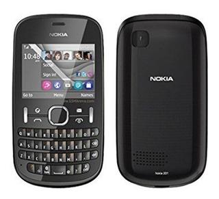 P/retirada De Peças Celular Nokia Asha 201 Preto C/defeito