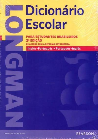 Longman Dicionario Escolar Ing/port - Port/ing - Com Workb