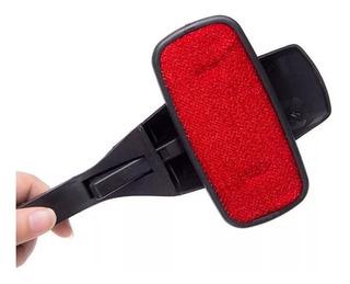 Cepillo Electroestático Saca Pelusa Pelo De Mascota P/ Ropa