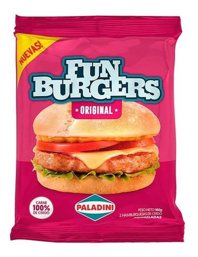 Hamburguesa Funburger Sabor Original Paladini X 2u