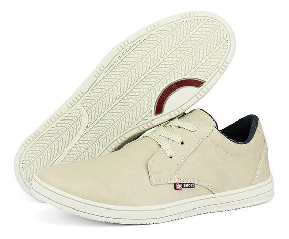 Sapatênis Casual Masculino Solado Baixo Exclusivo Sw Shoes