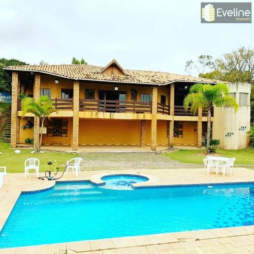 Chácara Com 5 Dorms, Maracatu, Guararema - R$ 2.6 Mi, Cod: 1644 - V1644