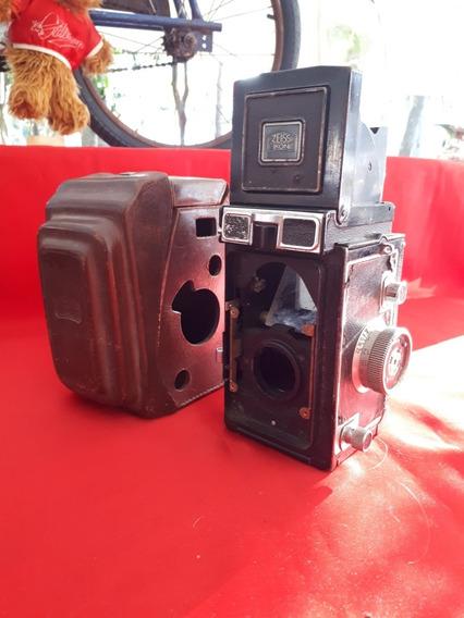 Antiga Câmera Fotográfica Zeiss - Retirar Peças.