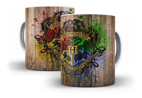 Caneca Harry Potter Símbolo De Hogwarts - Mega Oferta!!