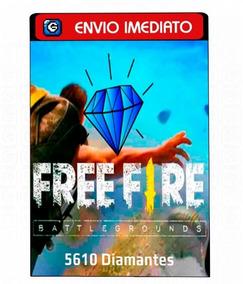 Garena Free Fire 5610 Diamantes - Recarga Para Conta No Jogo