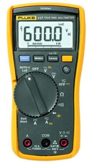 Multimetro Digital Detector Tensao 10a-40mohms Fluke 117-mpp