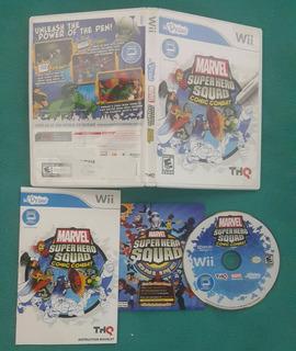 Udraw - Marvel - Super Hero Squad - Nintendo Wii - Wii U