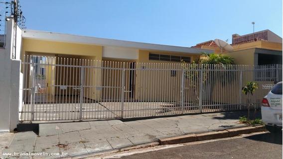 Casa Para Locação Em Presidente Prudente, Vila Lessa, 3 Dormitórios, 1 Suíte, 2 Banheiros, 2 Vagas - 00340.001