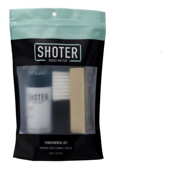 Shoter Limpiador Liquido Para Zapatillas (limpiador+cepillo)