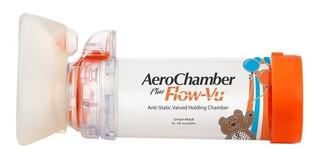 Aerocamara Aerochamber Plus Para Infantes 0 A 18 Meses