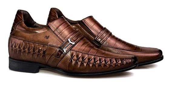 Sapato Rafarillo Vegas Alth Você + Alto 7cm 3261 Couro