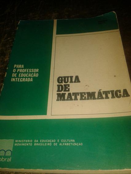 Guia De Matemática - Mobral - 1973