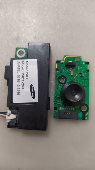 Botão Power, Módulo Wifi Widt20r Tv Samsung Un40fh5303g