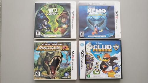 Pack Com 4 Jogos (nintendo 3ds E Ds)