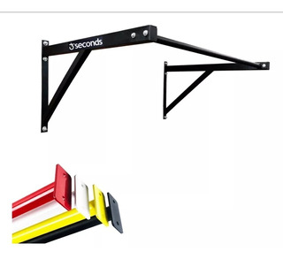 Barra Fixa De Parede Crossfit Pull-up Bar Colors Com Brinde