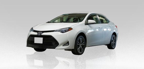 Toyota Corolla Le 1.8l 2017 Blanco 4 Puertas