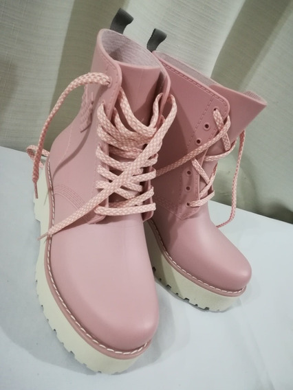 Borcegos Dos61 Durham High Light Pink Talle 37