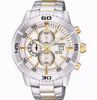 Reloj Hombre Citizen An3594 Crono Acero Wr 100 Promo