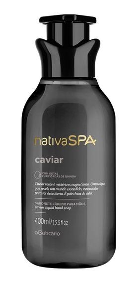 Nativa Spa Sabonete Líquido Para Mãos Caviar 400ml