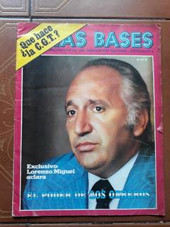 Revista Las Bases Lornzo Miguel Norma Kennedy Temperley 1° A