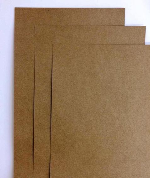 100 Folhas Papel Kraft - A4+ 21 X 32cm - 200g -