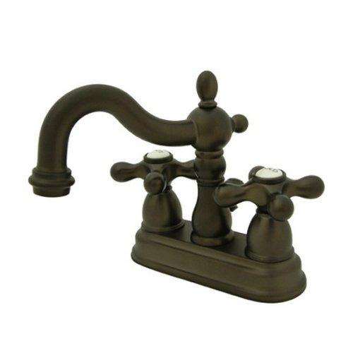 Kingston Brass Ks1605ax Patrimonio Para Lavamanos Con Latón