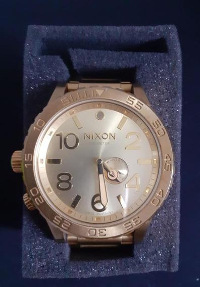 Relógio Nixon 51-30 Crono Gold